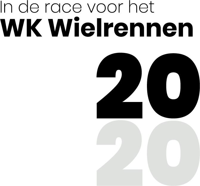 WK Wielrennen op de weg 2020; statement Drenthe beweegt.