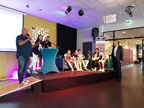 Indrukwekkend verhaal Bibian Mentel bij aftrap Drenthe doet mee