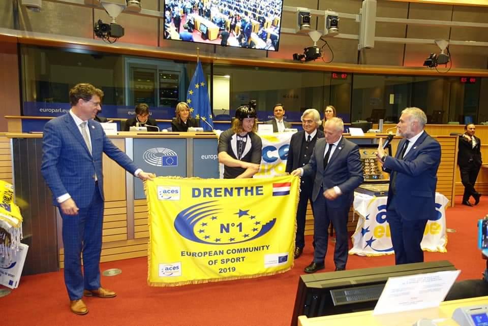 Drenthe krijgt extra waardering European Community of Sport