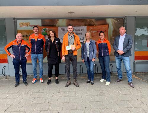 COOP Seiger primeur met bronzen vignet 'Gezondere Supermarkt'